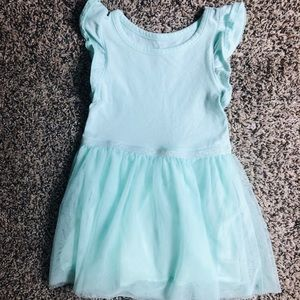 Cat & Jack Toddler Girls' Mint Green Tulle Dress